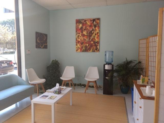 reception ourcommunity acupuncture